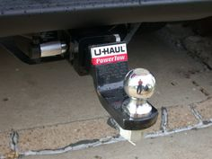Uhaul tow package