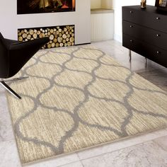 You'll love the Erelina Beige/Gray Area Rug at Wayfair - Great Deals on all Décor  products with Free Shipping on most stuff, even the big stuff.