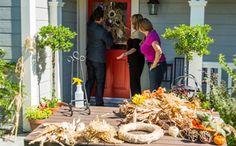 Shirley Bovshow's DIY Autumn Wreath