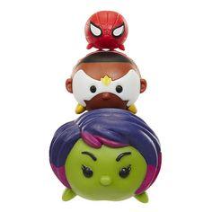 "Marvel Tsum Tsum 3 Pack Series 1 Figures - Gamora, Falcon and Spider-Man - Jakks HK Ltd. - Toys ""R"" Us"