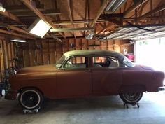 Chevrolet: Bel Air/150/210 BelAir 1954 chevy four door bel air Check more at http://auctioncars.online/product/chevrolet-bel-air150210-belair-1954-chevy-four-door-bel-air/