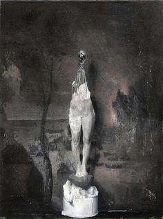 The disturbingly dark paintings of Nicola Samorì - Artists Inspire Artists