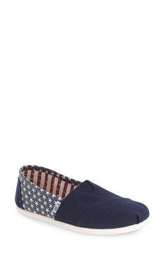 TOMS 'Classic - Americana' Slip-On (Women)