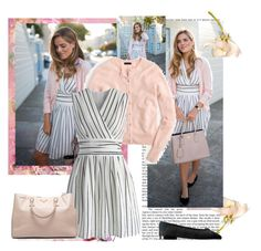 """""""Black and white stripes"""" by sarapires ❤ liked on Polyvore featuring J.Crew, Chicwish, Prada and Chanel"""