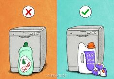 36 Mistakes That Shorten the Service Life of Your Home Appliances Mistakes, Soap, Home Appliances, Creative, Life, Bugs, Creativity, Manualidades, House Appliances