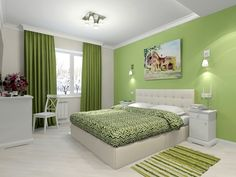 Many people do not realize that the color determines the general atmosphere in the room and that is why positive colors for bedrooms are of such a great importance. Living Room Partition Design, Bedroom False Ceiling Design, Bedroom Wall Designs, Bedroom Wall Colors, Room Design Bedroom, Bedroom Furniture Design, Modern Bedroom Design, Home Room Design, Home Interior Design