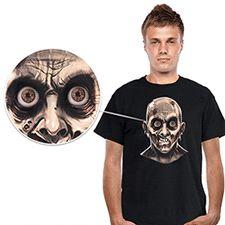 Frantic Zombie Eyeballs Shirt Velcro iPod inside t shirt download app