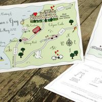 Thanks to Cute Maps you could be in with a chance to win free bespoke wedding invitations worth £249.