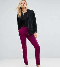 ASOS TALL Basic Joggers With Tie - Red