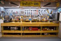 Organize suas ferramentas