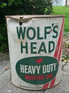 Vintage Oilzum 5 Gallon Motor Oil Advertising Can Ebay Back In Time Antique Mall Pinterest
