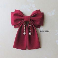 Hair clips 404127766566316931 - Source by mairamorena Ribbon Hair Clips, Baby Hair Clips, Diy Hair Scrunchies, Diy Hair Bows, Diy Ribbon, Ribbon Bows, Ribbons, Diy Accessoires, Handmade Hair Bows