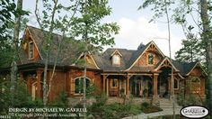 Harmony Mountain Cottage House Plan | House Plans by Garrell Associates, Inc. I like the style of this house and the floorplan