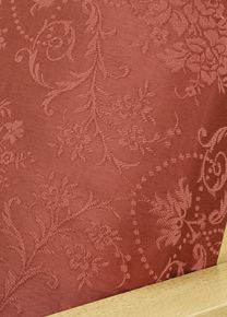 Brunswick Umber fabric is a real eye catcher.  Slipcover is made of the finest heavy weight quality damask with beautiful design and wonderful silky texture. #furnitureslipcovers
