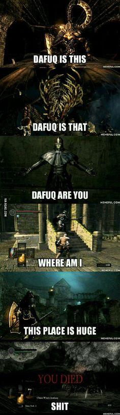 My first experience with Dark Souls so far