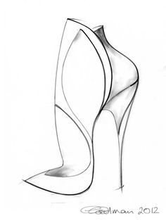 119 best shoe design sketches images fashion drawings fashion Navy and White Spectator Pumps ge ina goodman shoe sketch