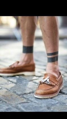 tattoo band ankle men - Google Search