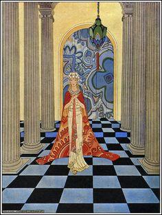 Tanglewood Tales iIlustration by Virginia Frances Sterrett