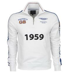 ralph lauren outlet online uk Hackett London Aston Martin Racing 1959 Winner Sweatshirt White http://www.poloshirtoutlet.us/
