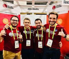 One day left before the return in France but it's not too late yet to meet the Team at the CES Eureka Park stand 51250 Hall G Level 1! #ces #ces2018 #eurekapark #lasvegas #vocalcookie #frenchtech #frenchtechces #teamallomedia #CookieVocal #callintelligence #calltracking #speechrecognition #startup #business #crm #leads #growth #growthhacking #deeplearning  #analytics #webtocall  #marketing #b2b #retargeting #ecommerce #tracking #bigdata