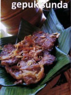 Resep Gepuk Sunda