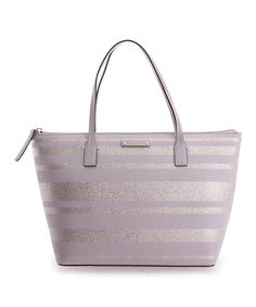 Kate Spade Natural Stripe Hani Haven Lane Tote | zulily