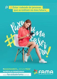 Creative Poster, Vestibular, and 2018 image ideas & inspiration on Designspiration Design Trends 2018, Graphic Design Trends, Web Design, Graphic Design Posters, Graphic Design Inspiration, Ads Creative, Creative Posters, Creative Advertising, Advertising Design