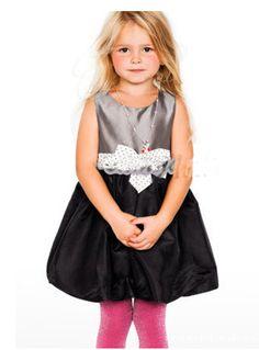 little girl dress party nova 2015 girl dress lovely Polka Dot Classy kid clothes new designer princess fantasia vestido infantil