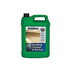 View Ronseal Decking Cleaner & Reviver 5L details