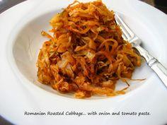 "Romanian Oven-Roasted Cabbage... ""Varza La Cuptor"""