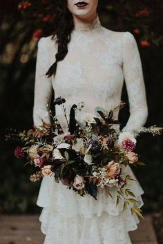 Vintage Harvest - Wedding Inspiration - Revel Petals Florals - The Blushing Bird