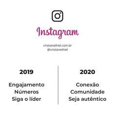 """123 curtidas, 3 comentários - Branding ❤ Cristiane Thiel (@cristianethiel) no Instagram: """"Ao longo de 2019 percebemos mais e mais essa verdade.  As redes sociais, não apenas o Instagram,…"""""""