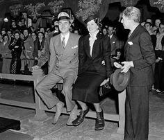 On the day they were scheduled to plant their footprints in cement in the forecourt of Grauman's Chinese Theater, Loy and Powell alarmed Sid Grauman by showing up on Hollywood Boulevard laughing, each sporting a pair of floppy swim flippers large enough for Bigfoot. Powell said they wanted to make a big impression.