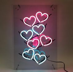 Discovered by мσσηℓιgнт. Find images and videos about pink, blue and aesthetic on We Heart It - the app to get lost in what you love. Photo Wall Collage, Picture Wall, Neon Wallpaper, Iphone Wallpaper, Neon Light Signs, Neon Signs, Hipster Photography, Neon Quotes, Neon Words