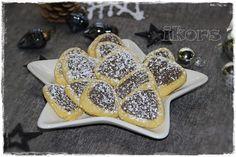 Mohnecken (ca. 50 Stück) 100 g Mohnsaat 15 Sek./St.10 umfüllen 100 g Zucker 125 g kalte Butter in Stücken 175 g Me...