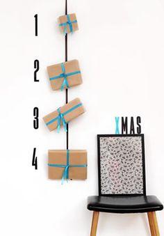 Me voy a hacer fan de esta tienda danesa,   sin duda.  Una idea preciosa para Navidad. Sencilla, alejada del prototipo ¡perfecta!