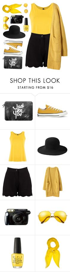 """tips & TS 6/5/2017"" by countrycousin ❤ liked on Polyvore featuring Casetify, Converse, Lygia & Nanny, San Diego Hat Co., Boohoo, Fujifilm, OPI, Hermès and Kate Spade"