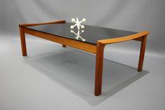 MID Century Large Coffee Table Tessa T21 Blackwood Glass Retro Vintage Danish Era, VIC | eBay 360 Modern Furniture