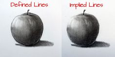 Implied Lines vs Defined Lines - The lines that we see are seldom the lines that we draw...