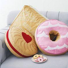 almofada biscoito - Pesquisa Google