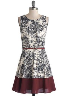 Meadow Melodies Dress, #ModCloth $52.99