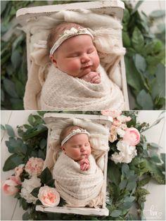 Newborn Photography Props, Newborn Photographer, Photography Ideas, Girls With Flowers, Baby Sister, Three Kids, Baby Girl Newborn, Greenery, Lifestyle