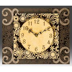 View all Duane Scherer clocks at http://www.sweetheartgallery.com/collections/duane-scherer-wall-clocks-contemporary-artisan-designer-wall-clocks