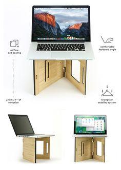 Flio Up - The 1st Laptop Stand Workstation on the Go by Vlad Butucariu — Kickstarter