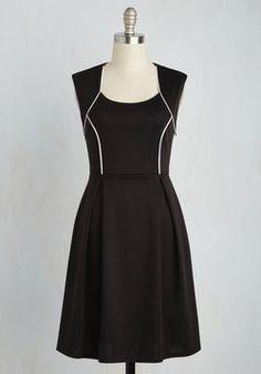 Talking 'Bout My Delegation Dress in Onyx