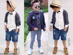 moda infantil garotos