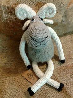 Cabra amigurumi - crochet Oma & Mutti