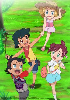 Amourshipping by on DeviantArt Solgaleo Pokemon, Fotos Do Pokemon, Pokemon Poster, Pokemon Manga, Pokemon Comics, Pokemon Fan Art, Pokemon Stuff, Cool Pokemon Wallpapers, Cute Pokemon Wallpaper