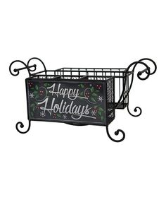 Look at this 'Happy Holidays' Buffet Caddy on #zulily today!