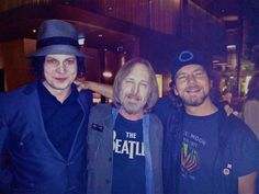 Jack White (The White Stripes, The Raconteurs), Tom Petty (and The Heartbreakers) and Eddie Vedder (The Pearl Jam) ~ Amsterdam Music Pics, Music Love, Music Stuff, Music Is Life, Rock Music, Music Things, Tom Petty, Eddie Vedder, Jack White